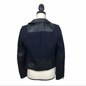 Blank NYC Jackets & Coats - BLANKNYC Sour Faced Faux Leather Moto Jacket